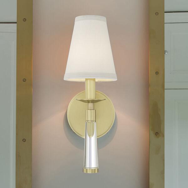 Baxter Aged Brass One-Light Sconce, image 6