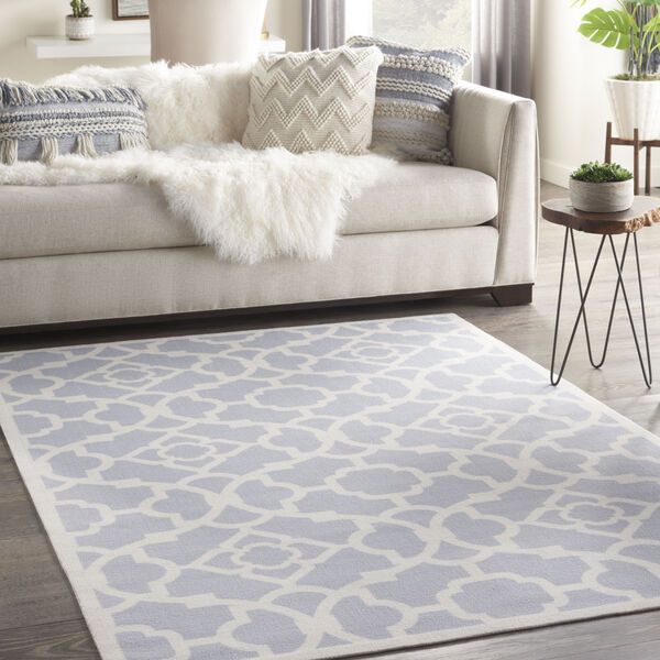 Sun and Shade Gray Indoor/Outdoor Area Rug, image 1