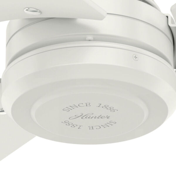 Cassius Fresh White 52-Inch Outdoor Ceiling Fan, image 5