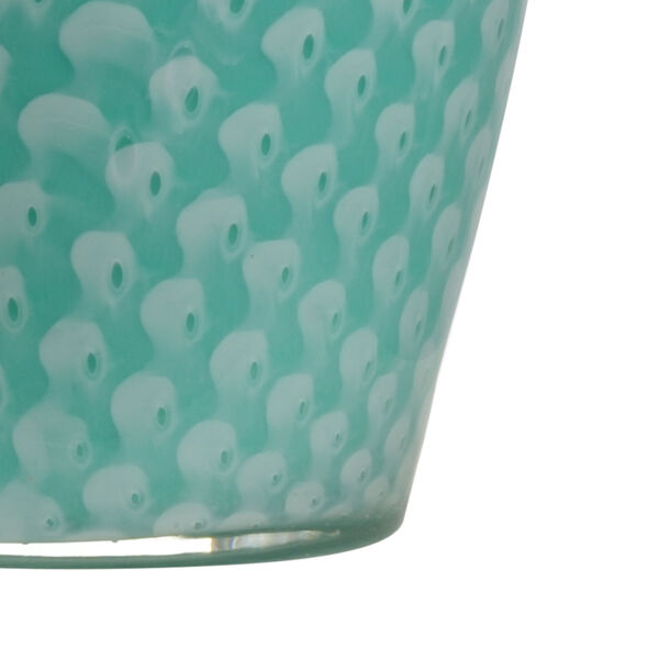 Antigua Mint Green and White One-Light Table Lamp, image 2