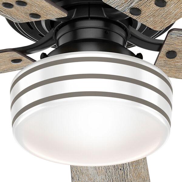 Cedar Key Matte Black 52-Inch One-Light LED Adjustable Ceiling Fan, image 3