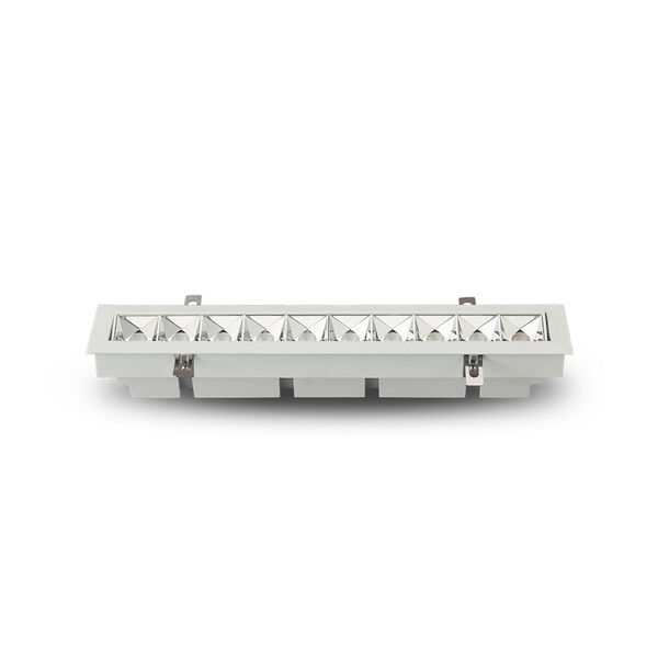Rubik White 10-Light Adjustable LED Recessed Downlight, image 5