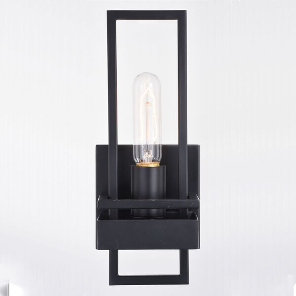 Marquis Matte Black One-Light Wall Sconce, image 5