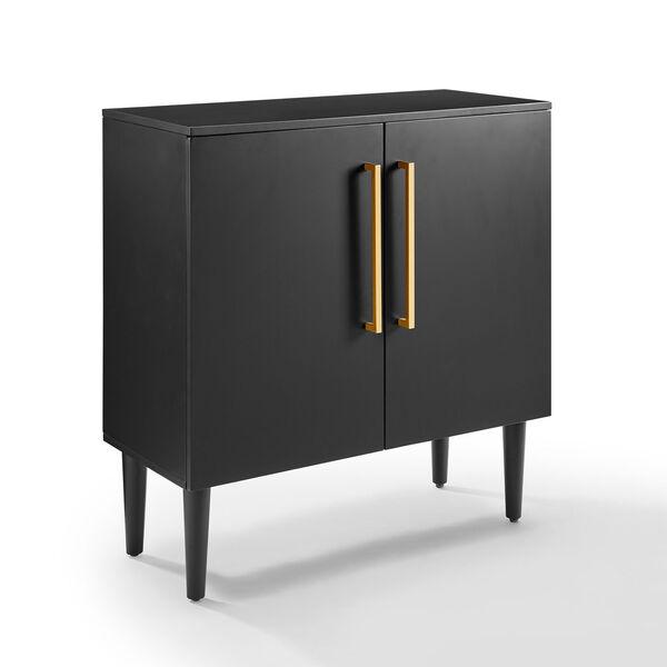 Everett Matte Black Console Cabinet, image 5