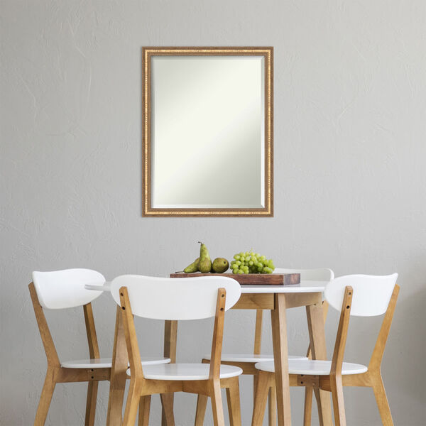Fluted Champagne 20W X 26H-Inch Decorative Wall Mirror, image 5