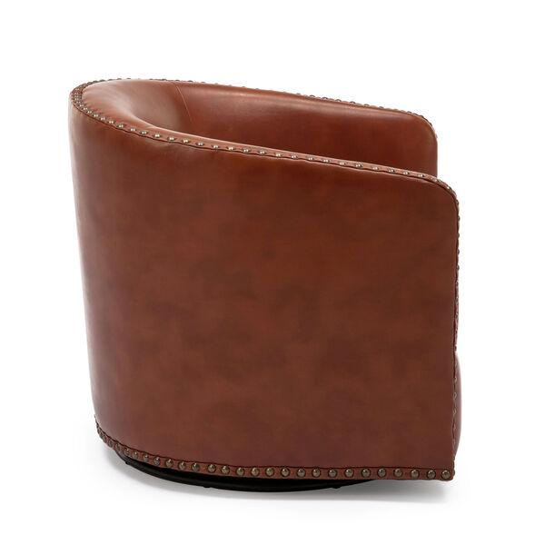 Tyler Caramel Swivel Arm Chair, image 5