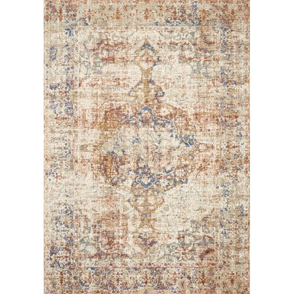 Revere Multicolor Rectangle: 2 Ft. x 3 Ft. 2 In. Rug, image 1