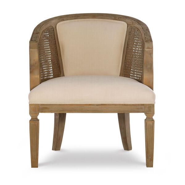Navaeh Gray Wash Chair, image 2