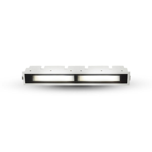 Slice White 13-Inch LED Recessed Wall Washer, image 2