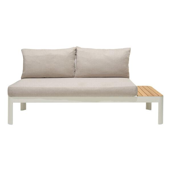 Portals Teak Matte Sand Three-Piece Outdoor Furniture Set, image 4