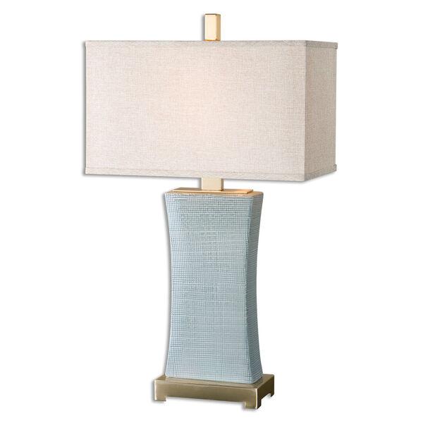 Cantarana Blue Gray One-Light Table Lamp, image 1