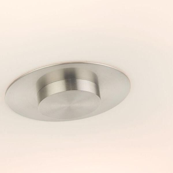 Meridian Oatmeal 30-Inch Six-Light Semi-Flush Mount, image 6
