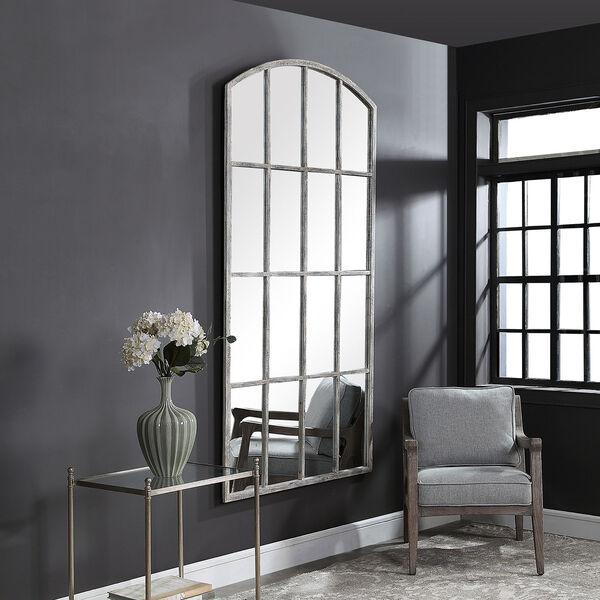 Amiel Gray and White Mirror, image 1