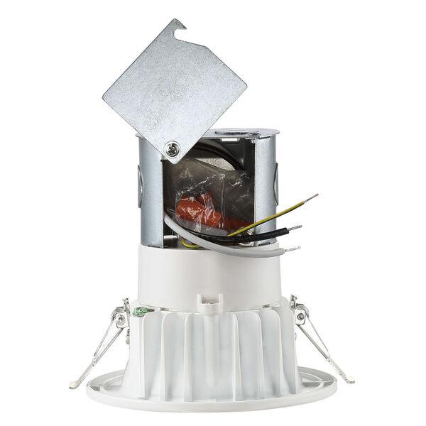 White Four-Inch 2700K LED Recessed Light, image 3