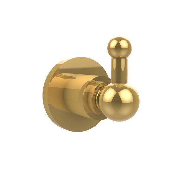 Astor Place Polished Brass Utility Hook, image 1