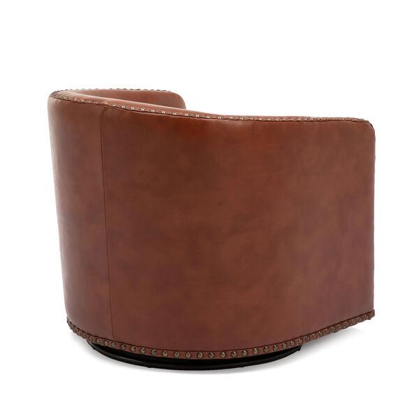 Tyler Caramel Swivel Arm Chair, image 6