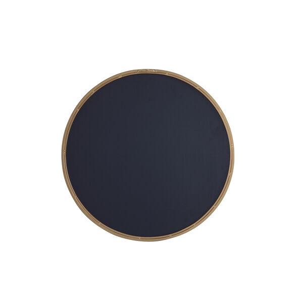 Eternity Brushed Brass Round 24-Inch Mirror, image 4