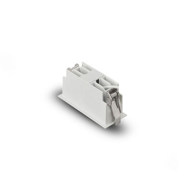 Rubik White Three-Light LED Recessed Downlight, image 5