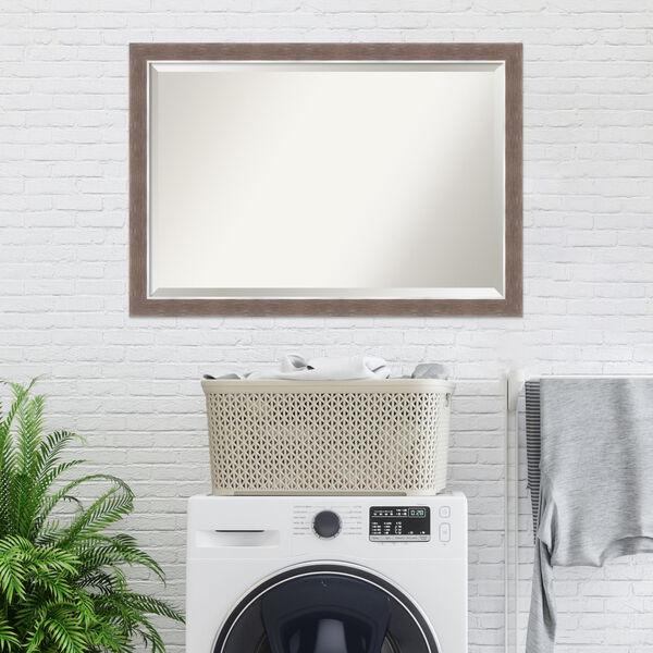 Noble Mocha 40W X 28H-Inch Bathroom Vanity Wall Mirror, image 5