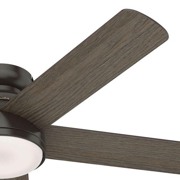 Romulus Low Profile Noble Bronze 54-Inch Smart LED Ceiling Fan, image 4