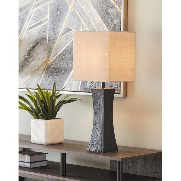 Enkel Dark Walnut Two-Light Table Lamp, Set of Two, image 2