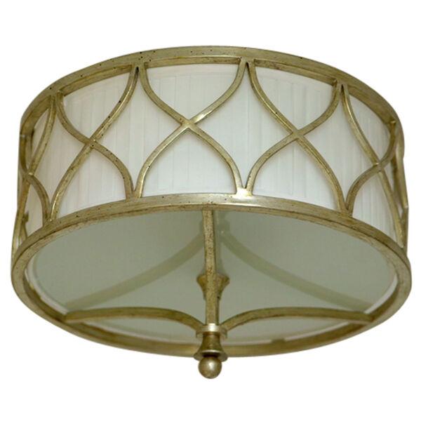 Fifth Avenue Winter Gold Three-Light Semi-Flush, image 2