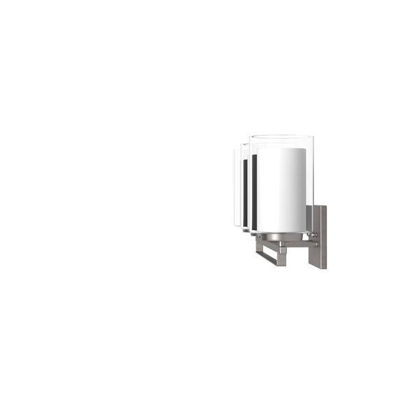 Harrow Brushed Nickel Three-Light Vanity - (Open Box), image 6