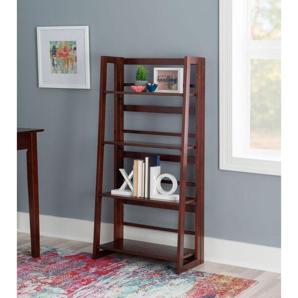Olivia Walnut Folding Bookcase, image 6