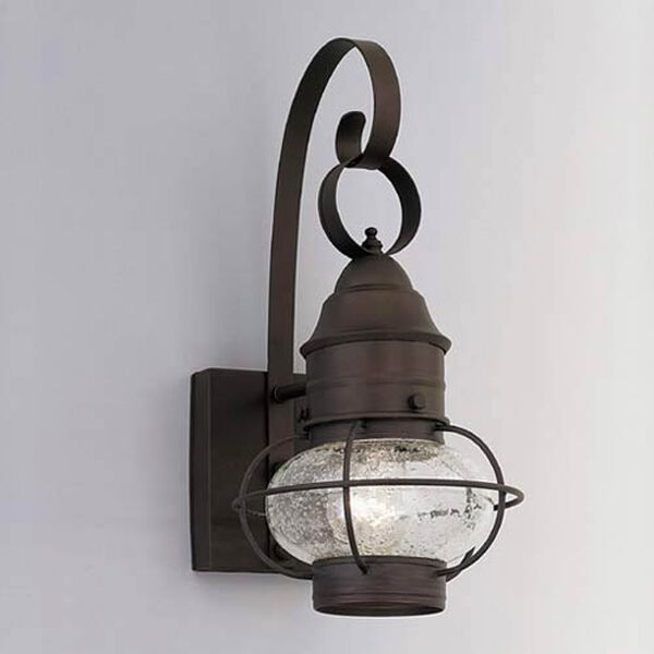 Nantucket Rustique One-Light Outdoor Wall Mounted Light, image 1