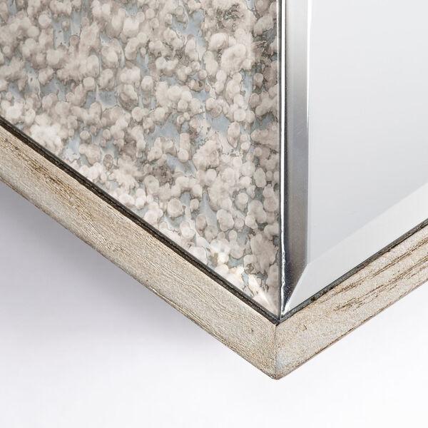 Cheveronna Brown 14-Inch Wood Frame Wall Mirror, image 5