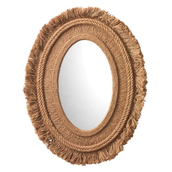 Fringe Natural Mirror, image 1