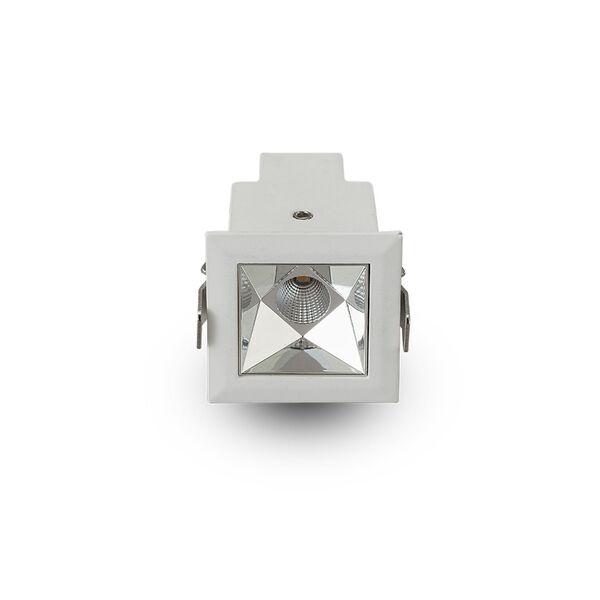 Rubik White LED Recessed Downlight, image 1