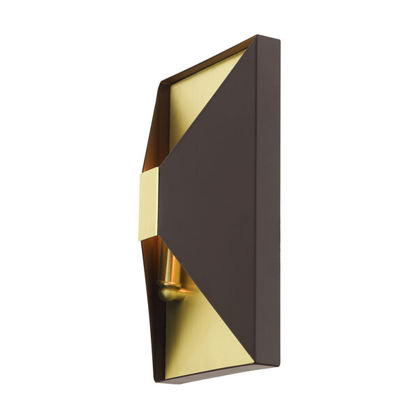 Lexford Bronze Two-Light ADA Wall Sconce, image 5