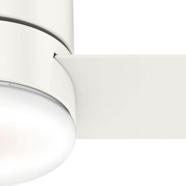 Minimus Low Profile Fresh White 44-Inch LED Ceiling Fan, image 6