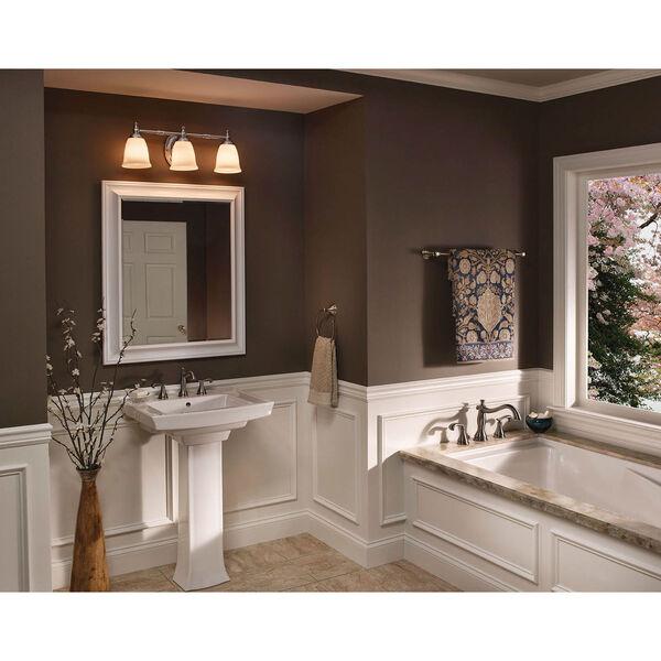 P3029-15:  Polished Chrome Three-Light Bath Fixture, image 5