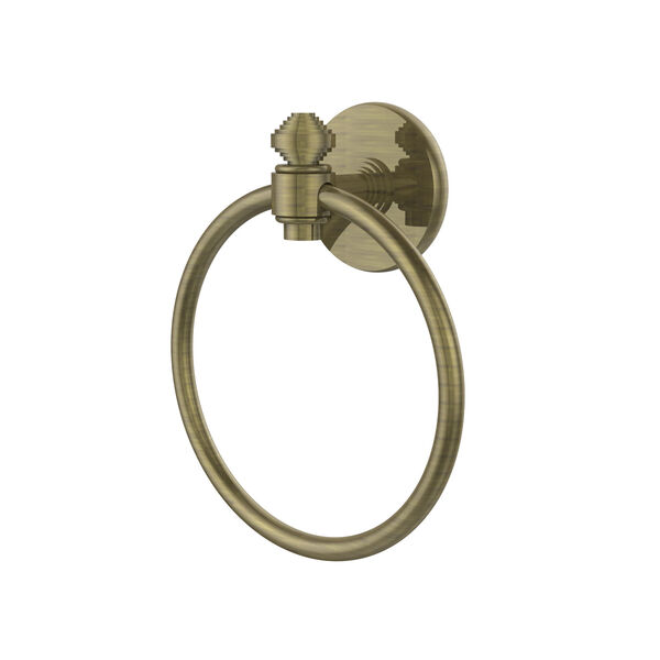 Southbeach Antique Brass Towel Ring, image 1