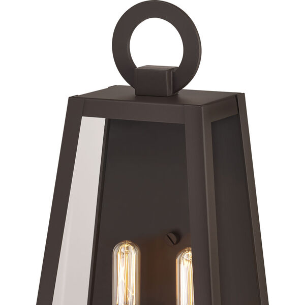 Poplar Point Old Bronze Two-Light Outdoor Wall Mount, image 6