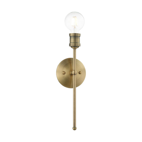 Lansdale Antique Brass One-Light  Wall Sconce, image 3