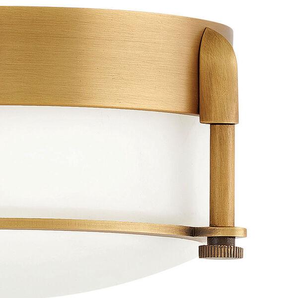 Colbin Heritage Brass LED Flush Mount, image 2