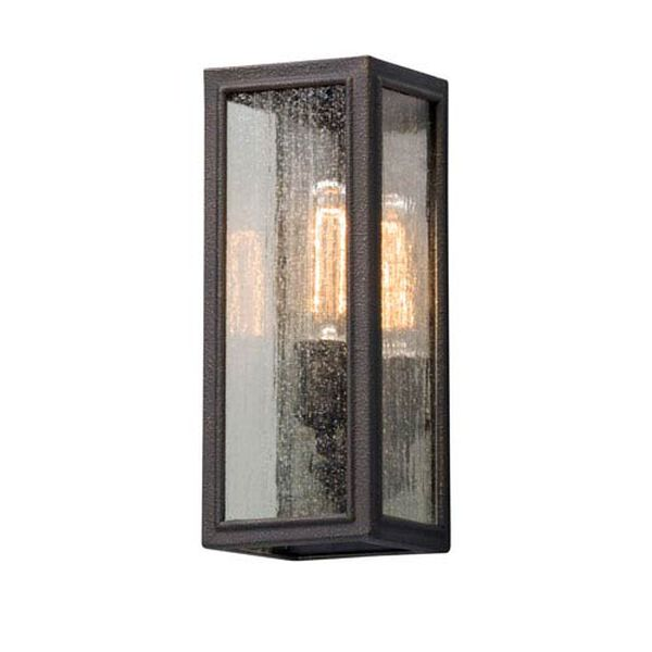 Ira Vintage Bronze One-Light 5-Inch Outdoor Wall Lantern, image 1