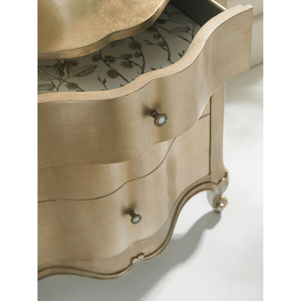 Classic Gold You Are the One Nightstand, image 3