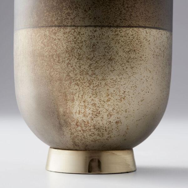 Black Onyx and Champagne Small Pemberton Vase, image 2