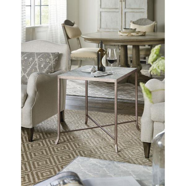 Alfresco Light Silver End Table, image 2