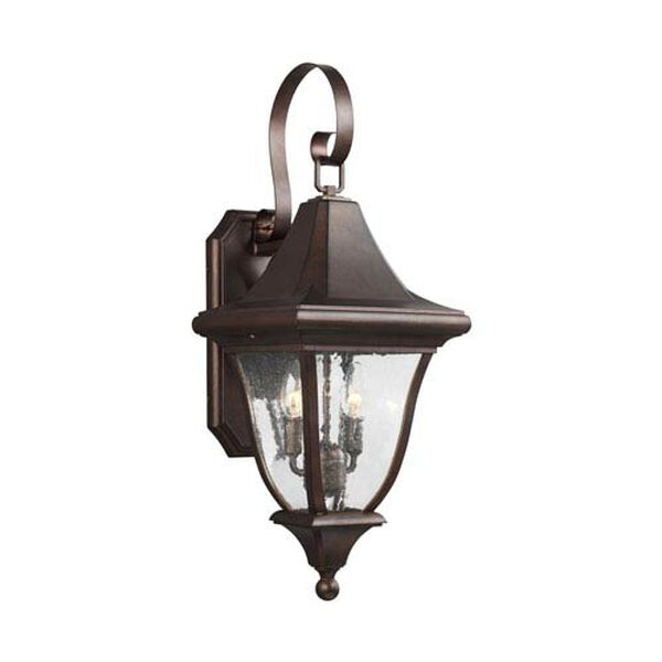 Hereford Bronze Two-Light Outdoor Wall Lantern, image 1