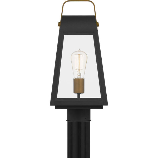 O-Leary Earth Black One-Light Outdoor Post Mount, image 3
