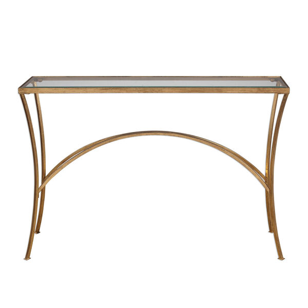 Alayna Gold Console Table, image 1
