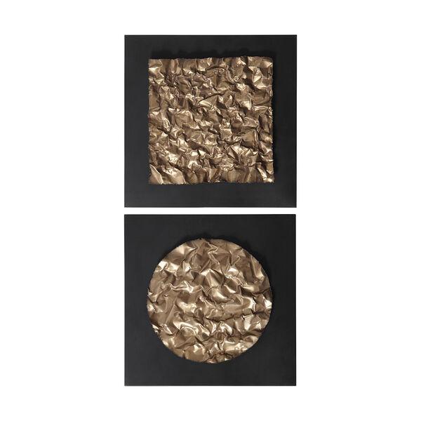 Boaz Antique Gold Wall Decor, Set of 2, image 2