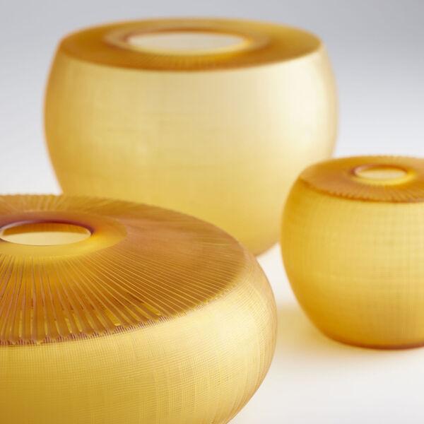 Amber 15-Inch Sun Flower Vase, image 4