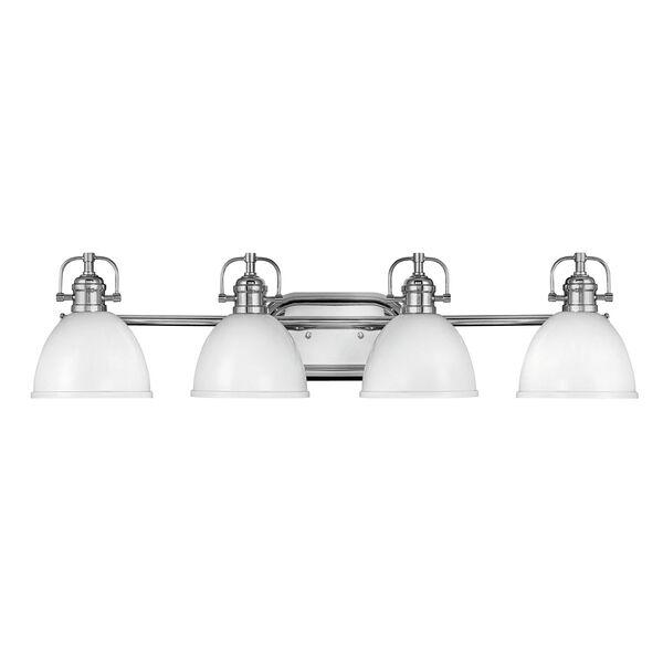 Rowan Chrome Four-Light Bath Vanity, image 1