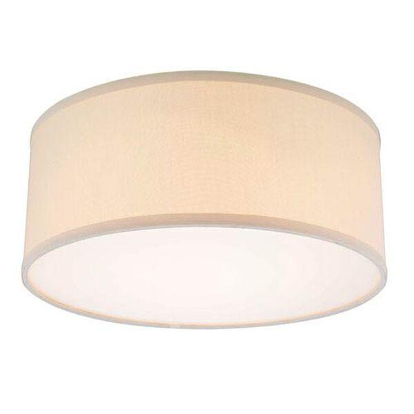 Fabbricato Beige 14.5-Inch Recessed Light Shade, image 1